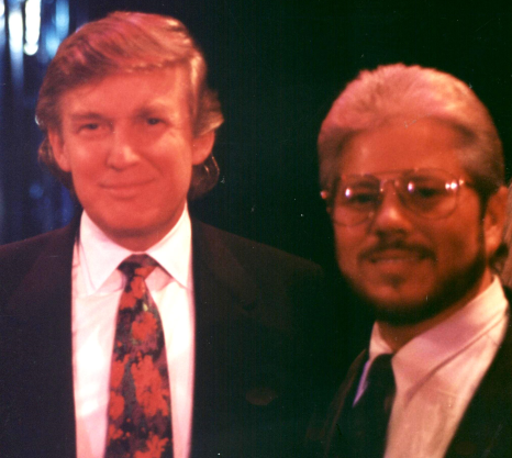 Dr. Barnhart with President Trump