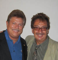 Dr. Barnhart with Dr. Ken Rabac